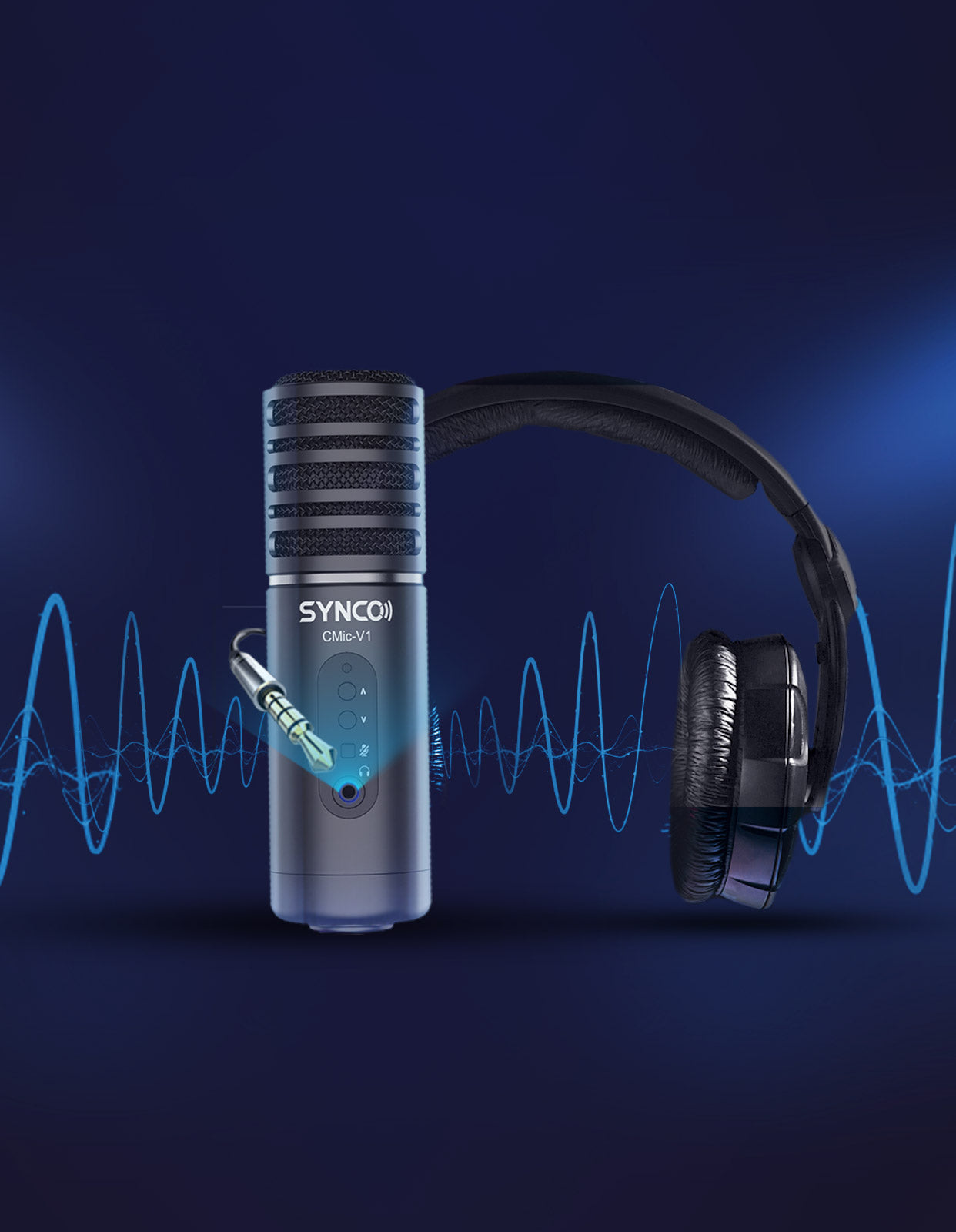 SYNCO CMic-V1 User-friendly Design for Easy Use