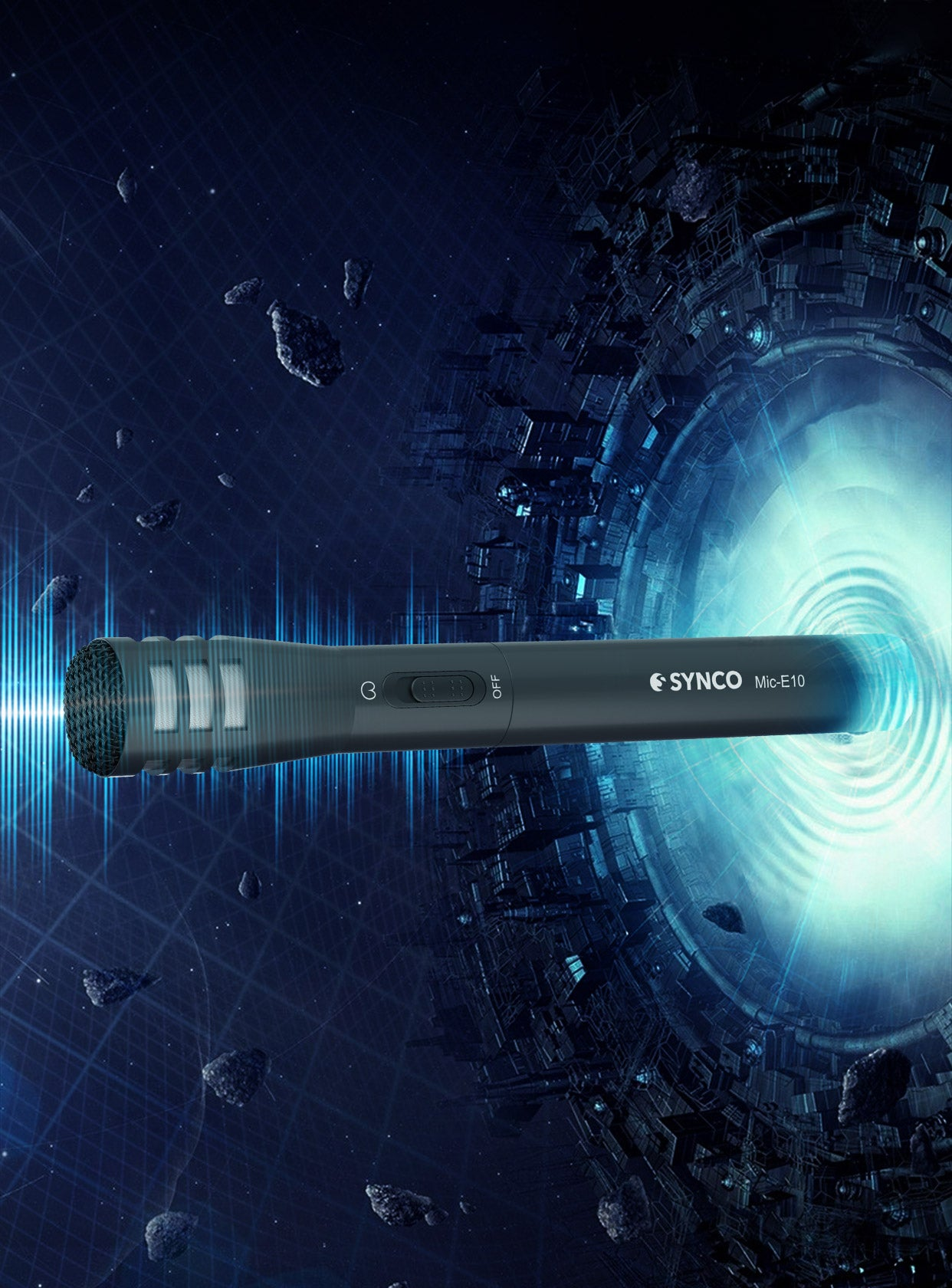 SYNCO Mic-E10 Broad, Balanced Frequency Response