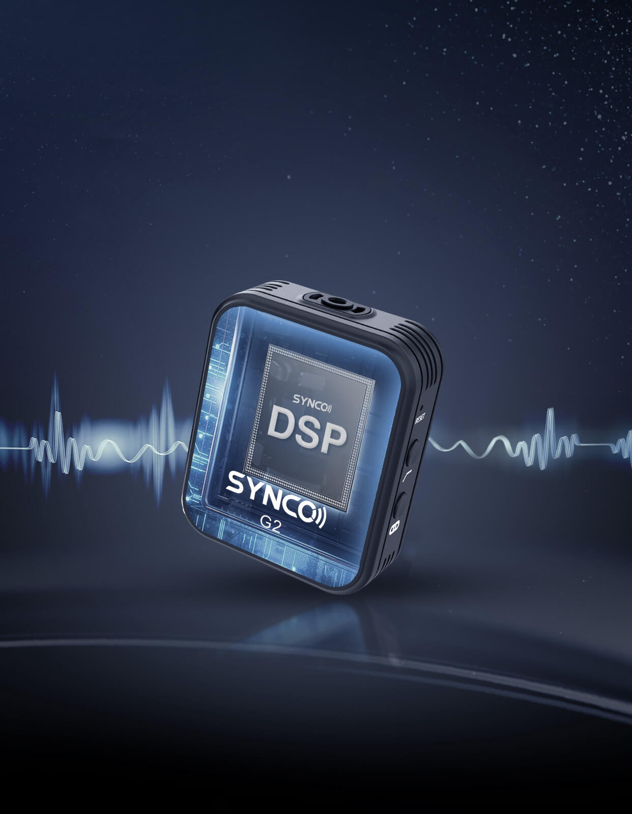SYNCO G2(A1) Integrated Signal Processing for Little Latency Sound Production