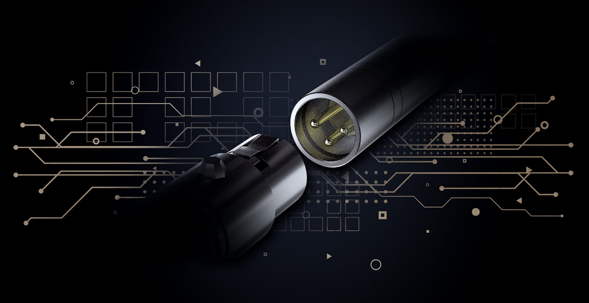 SYNCO Mic-D2 Gold Plated XLR Connector
