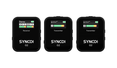 Best Budget Wireless Lavalier Microphone System SYNCO G2(A2)