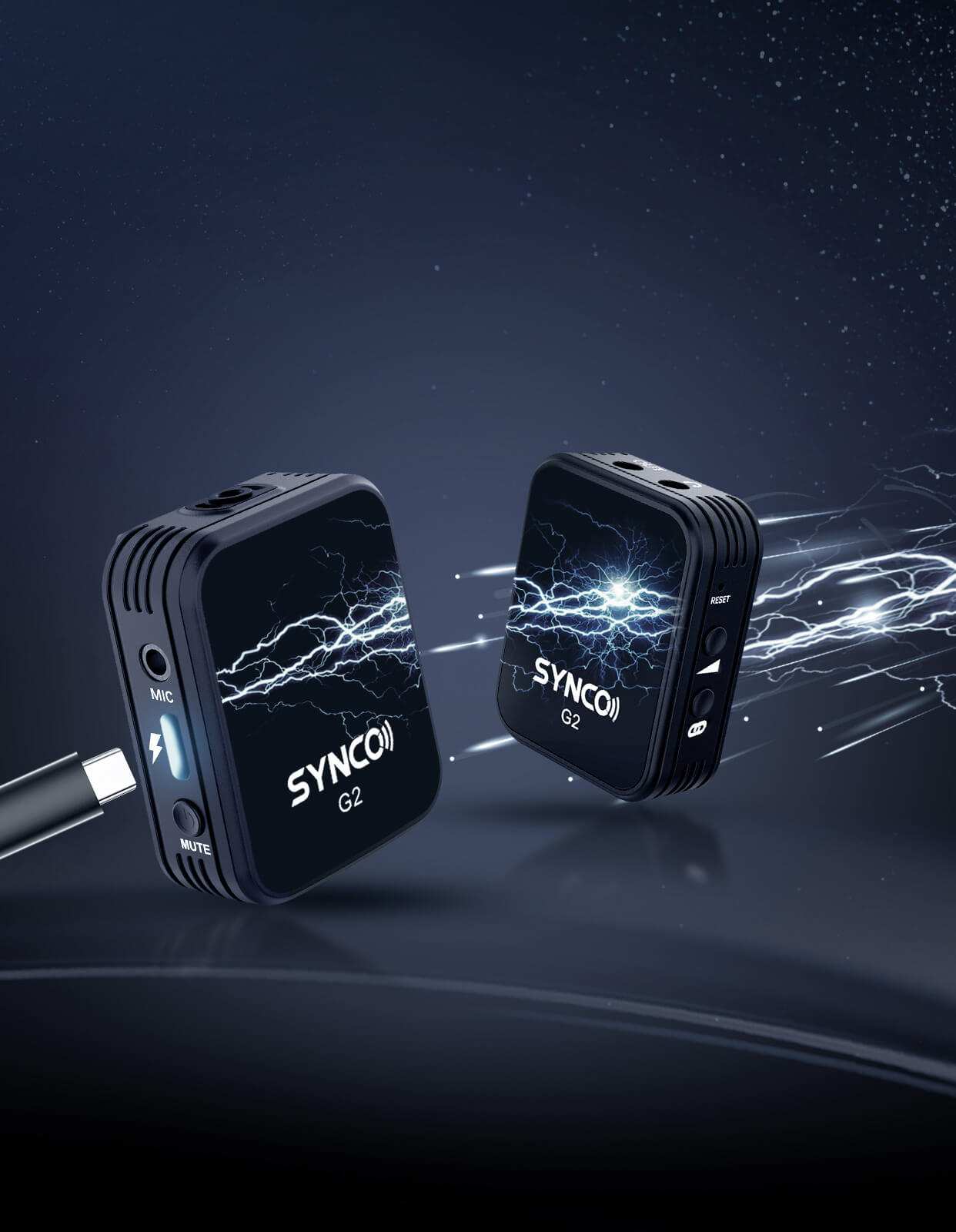 SYNCO G2(A1) Quick Charge for Every Continued Filming