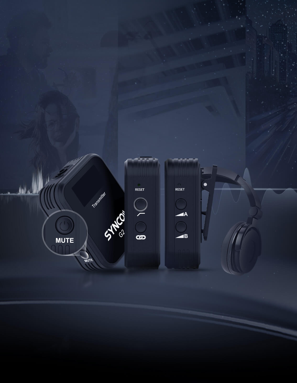 SYNCO G2(A2) Small Features Run to Make Big Differences