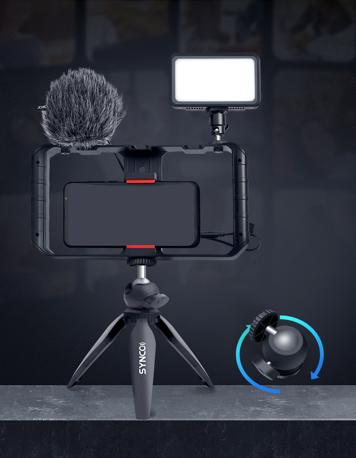SYNCO Vlogger Kit 1 More Flexibility for Perfect Shooting