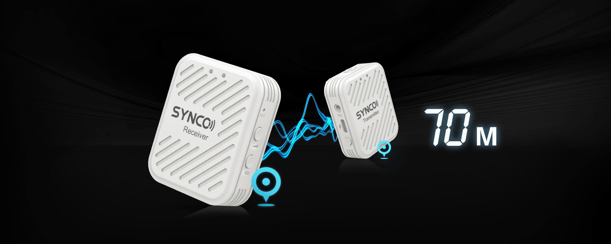 SYNCO G1(A1) Steady Transmission Even When the Distance is 150m