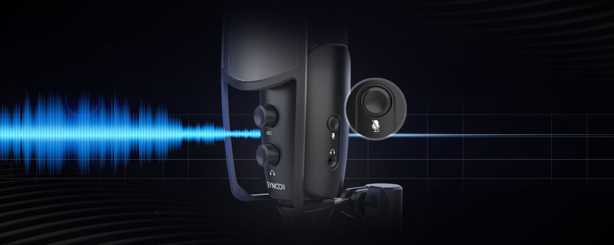SYNCO CMic-V2 Real Silence, Easy Control