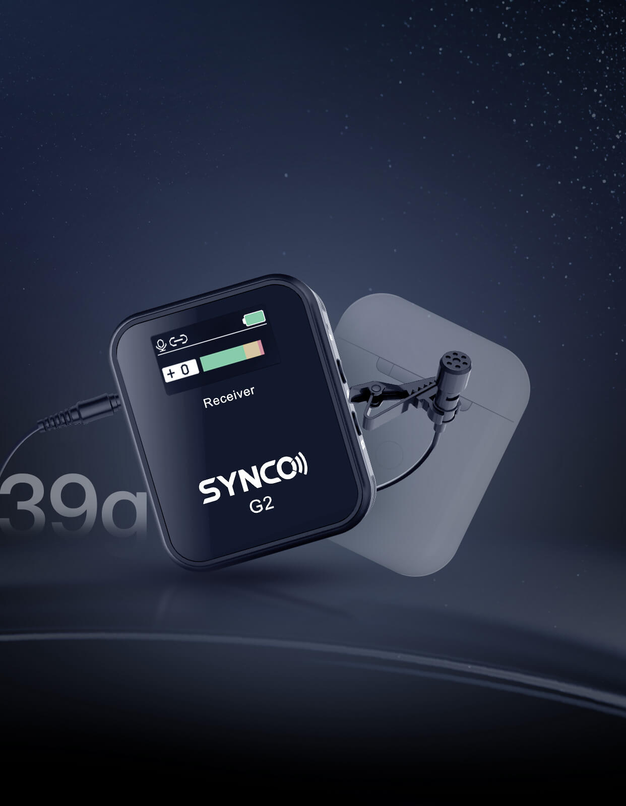 SYNCO G2(A1) Pocket Size for Invisible but Audible Effect