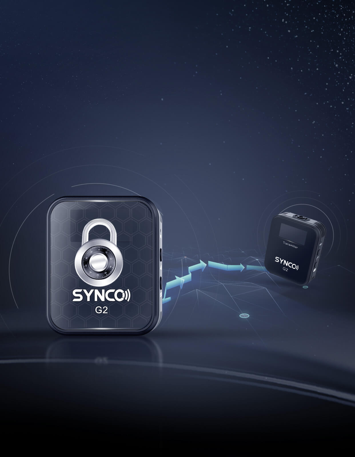 SYNCO G2(A1) Upgraded Algorithm for More Stable, Safe Transmission