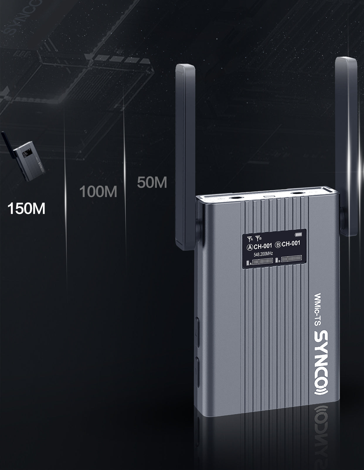 SYNCO WMic-TS SYNCO Wireless LinkLable UHF Band
