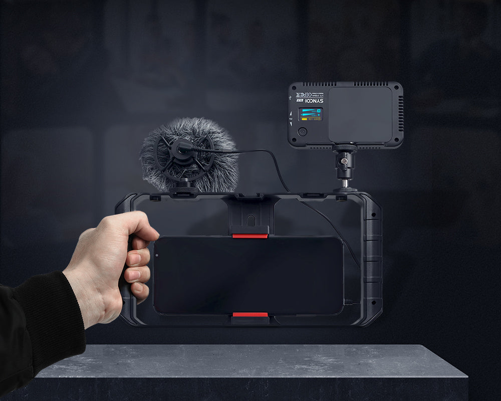 SYNCO Vlogger Kit 1 Easy Setup for Instant Play