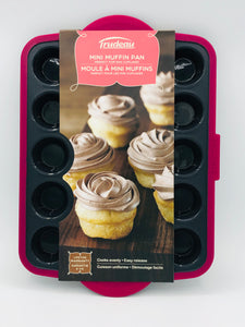 Trudeau Structure Silicone Pro Mini Muffin Pan