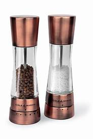 Cole and Mason 'Derwent' Salt and Pepper Mill Set - Copper