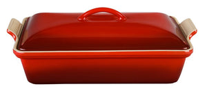 Le Creuset Heritage Rectangular Covered Casserole - Cerise