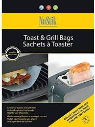 Reusable toaster bags keep toaster clean.  Toast sandwiches with ease, great for gluten free bread, no cross-contamination.