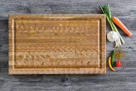 Larch Wood Carving Board