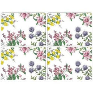 Pimpernel 'Stafford Blooms' Placemats - Set of 4