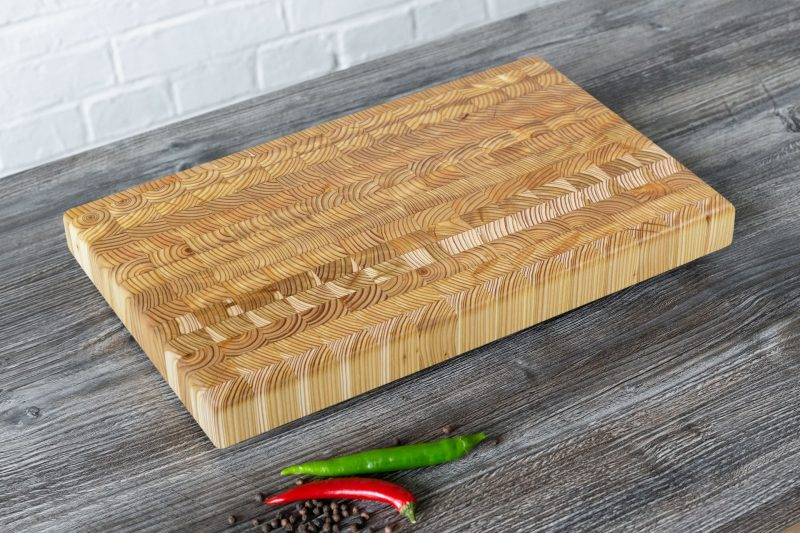 Larch Wood Small Cutting Board