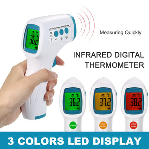 Temperature Sensor Non Contact IR Infrared Thermometer Forehead Digital Termometro Infrarojo Thermal Camera Imager for Kid Adult