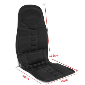 Electric Mulifunction Back Heated Massage Car Seat Home Office Cushion Car Seat Chair Massager Lumbar Back Neck Pad Relaxation - BrandsMafia LLC.