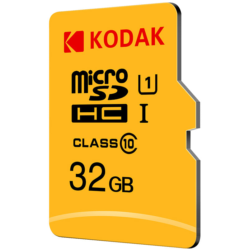 KODAK Micro SD Card TF Card U1 Class 10 SDXC SDHC Memory Card  32G 64G 128G for Video Mobile Storage