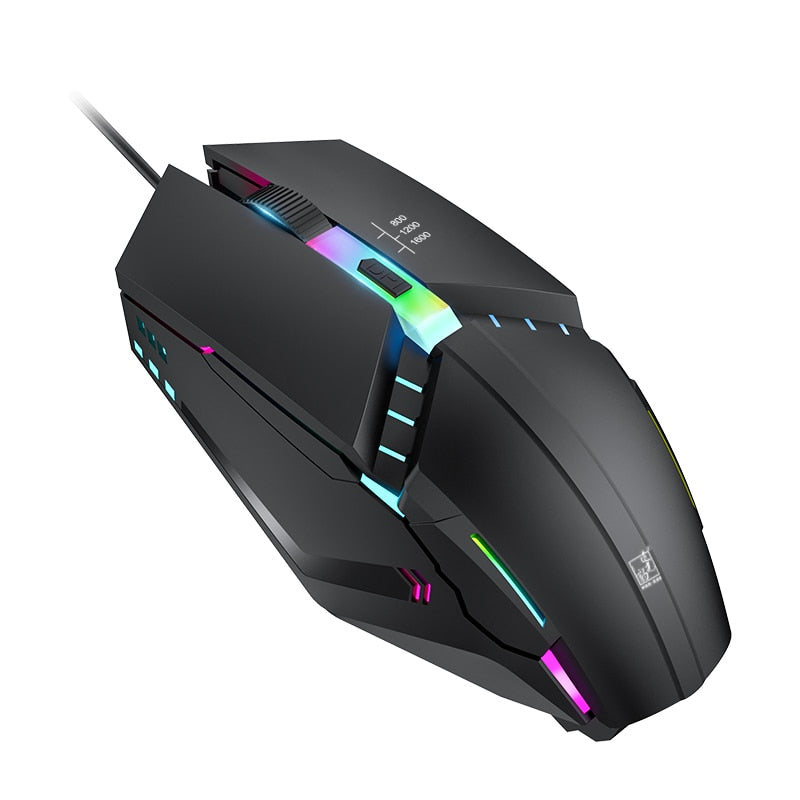 LED-Crazy gaming mouse