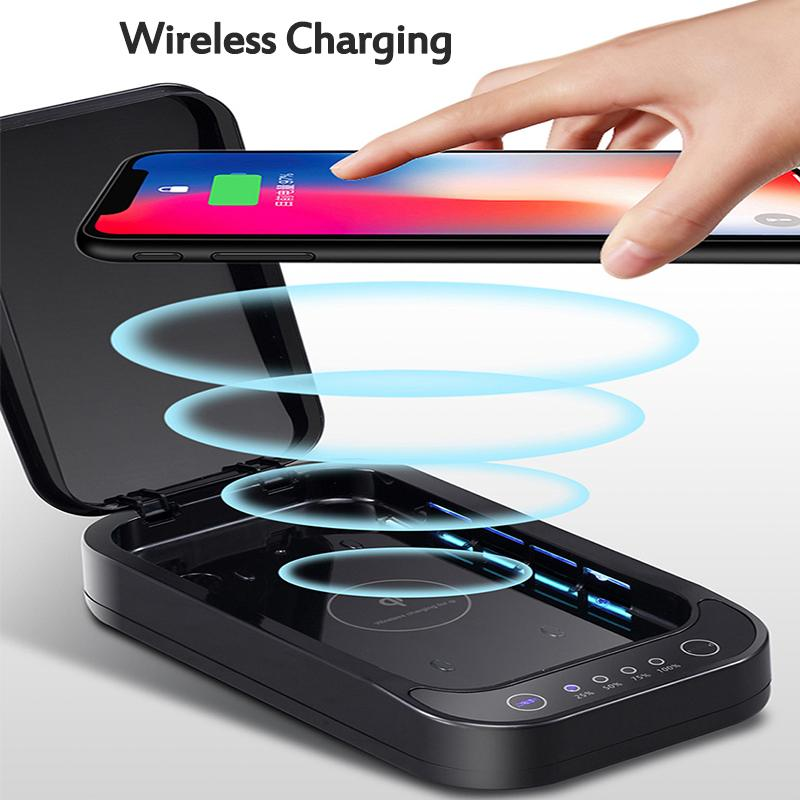 COVID-FREE disinfection phone box/wireless charger