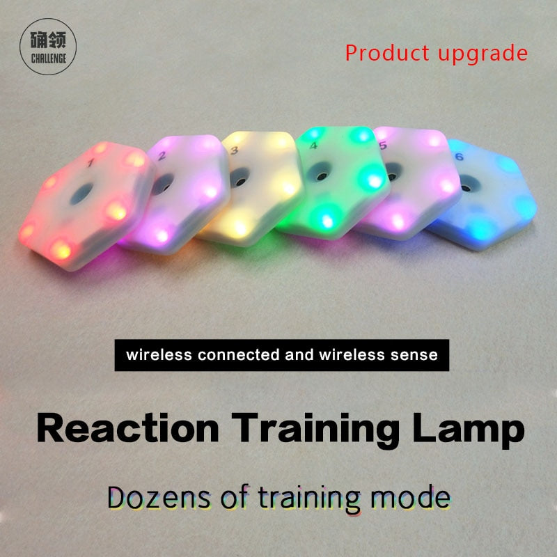 Reaction training lights
