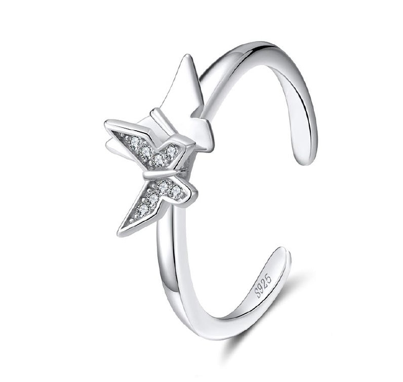 Anillo Butterfly Duo