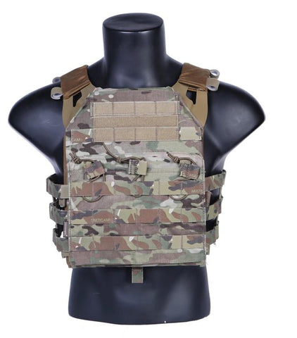 IDOGear JPC Plate Carrier Tactical Vest Multicam