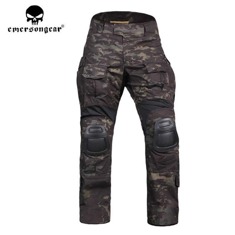 Emersongear Gen3 Advanced Tactical Combat Pants Black Multicam