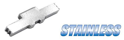 Guarder Steel Slide Lock For G-Series (Silver)