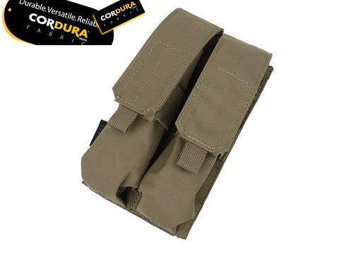 TMC MP7A1 Double Magazine Pouch Coyote Brown