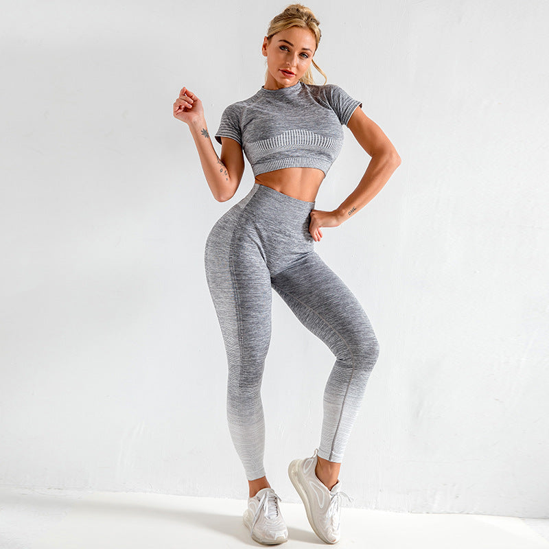 Quick dry training running yoga clothes - Urban Fashion Store