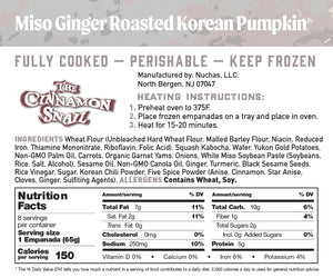 Miso Ginger Roasted Korean Pumpkin with Root Vegetables