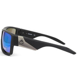 Dragon Deadlock LL 41900-045 Matte Black/Green Ion Mirror Men's Sport Sunglasses
