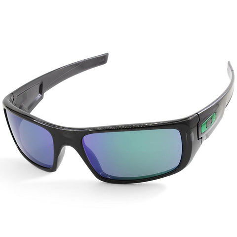 Oakley Crankshaft OO9239-02 Black Ink/Jade Iridium Men's Sport Sunglasses