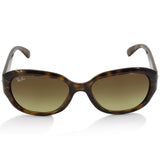Ray-Ban RB4198 710/85 Brown Tortoise/Brown Gradient Women's Fashion Sunglasses