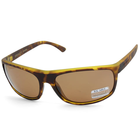 Serengeti Alessio 8674 Dark Tortoise/Brown Polarised Drivers Men's Sunglasses
