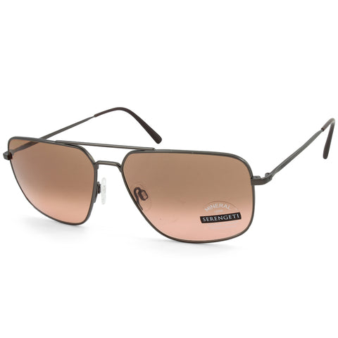 Serengeti Agostino 8829 Matte Espresso/Drivers Gradient Men's Photochromatic Sunglasses