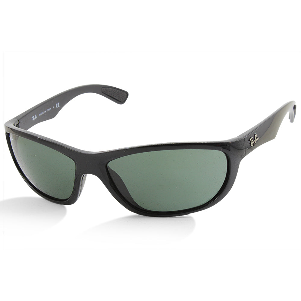 Ray-Ban RB4188 601/71 Polished Black/Grey-Green Unisex Sport Sunglasses