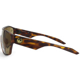 Dragon Tolm LL 41991-246 Matte Tortoise/Brown Men's Designer Shield Sunglasses