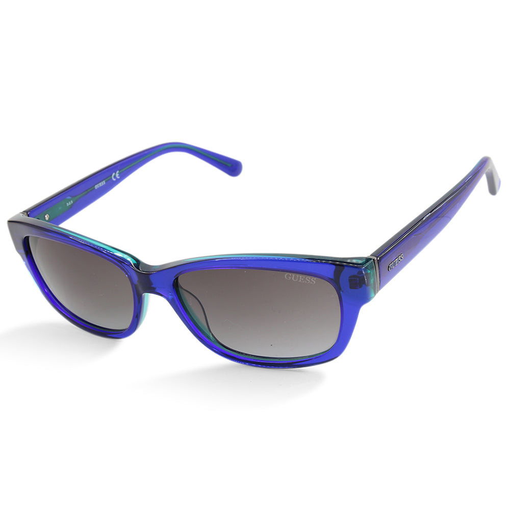 Guess GU7409 90X Blue on Aqua/Grey Gradient Women's Fashion Sunglasses