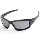 Oakley Valve OO9236 12-837 Polished Black/Black Iridium Men's Polarised Sunglasses