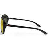 Oakley Split Time OO4129-04 Matte Black/Prizm Ruby Women's Sunglasses