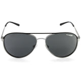 Arnette Dweet AN3071 679/87 Silver/Grey Men's Metal Aviator Sunglasses