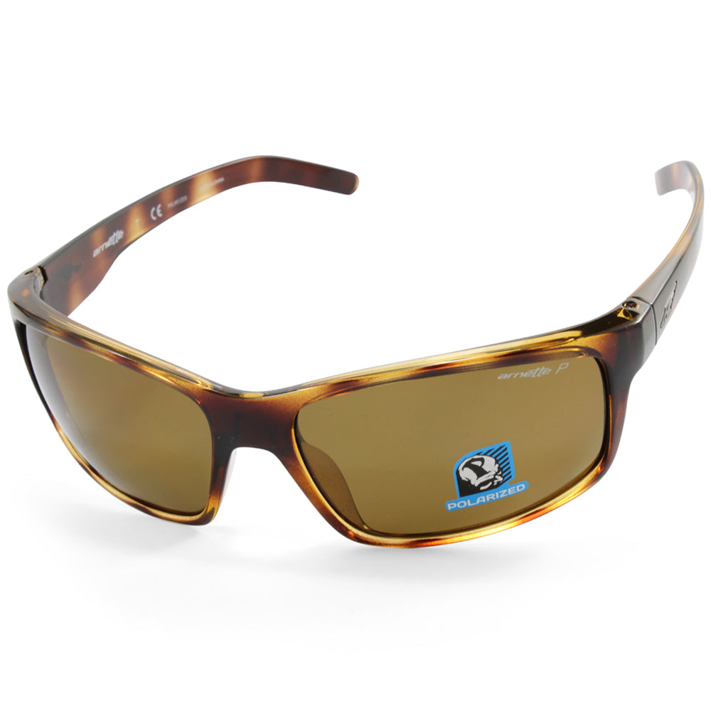 4007326d00 Arnette. Arnette Fastball AN4202 208783 Polished Havana Brown Polarised  Men s Sunglasses