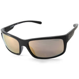 Arnette Fastball 2.0 AN4242 41/4Z Polished Black/Grey Pink Mirror Men's Sunglasses