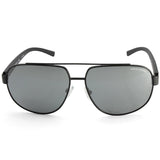Armani Exchange AX2019S 60636G Matte Black/Grey Men's Metal Sunglasses