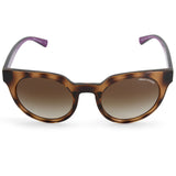 Armani Exchange AX4062S 821513 Polished Havana Purple/Brown Women's Sunglasses