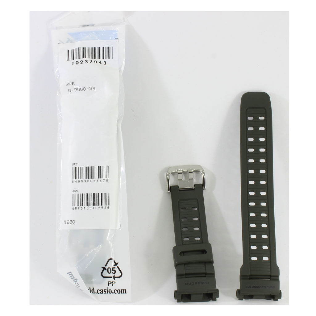 Casio G-Shock Matte Black Genuine Replacement Strap 10273059 to suit AW-590-1A
